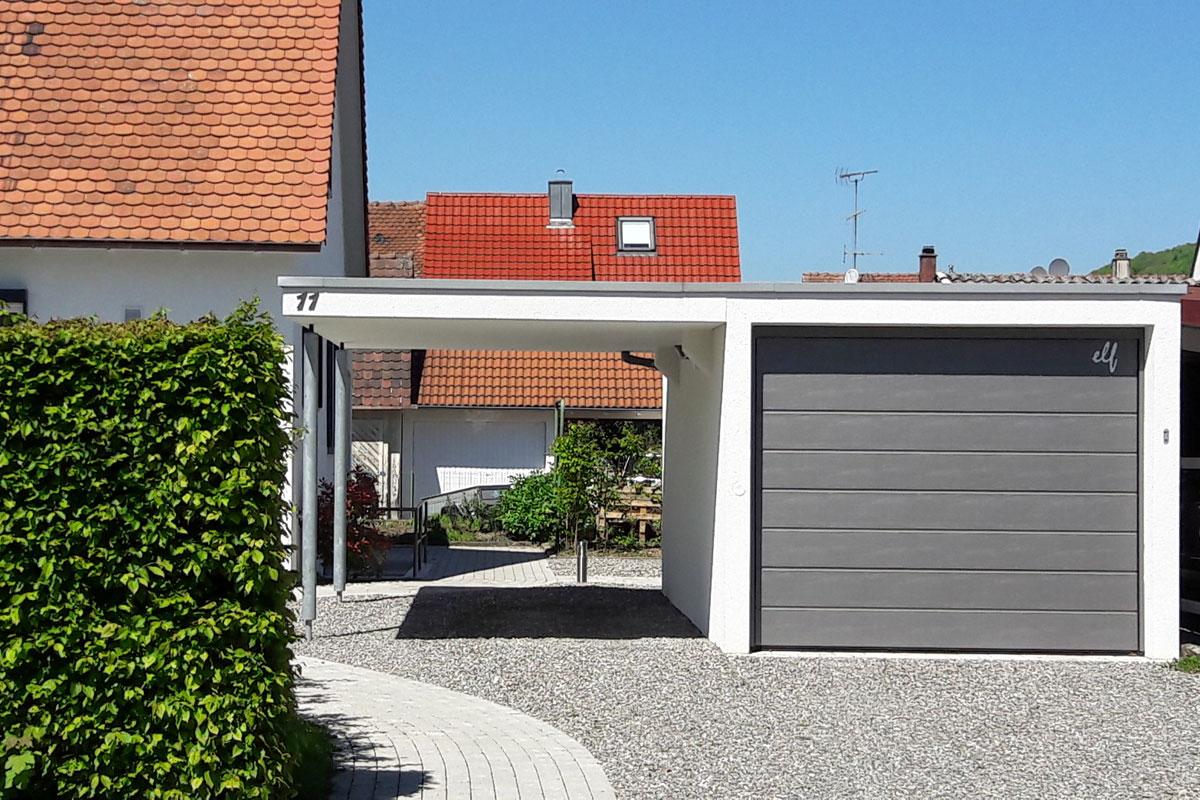 garagen carport kombination ibk villingen. Black Bedroom Furniture Sets. Home Design Ideas